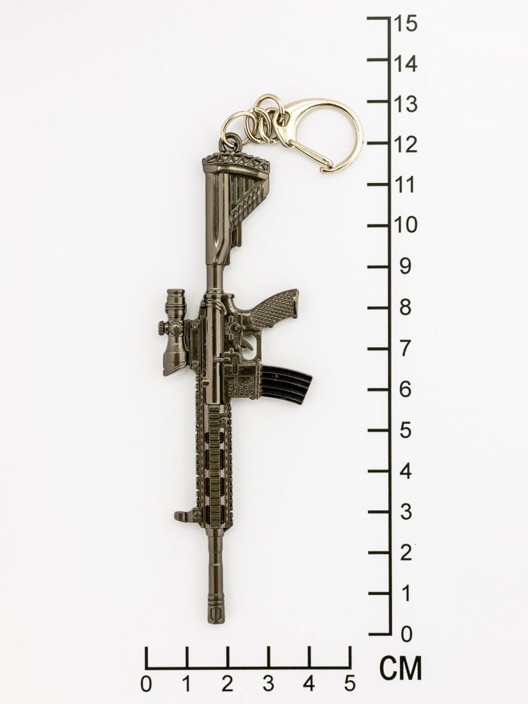 """Брелок на ключи """"Штурмовая винтовка"""""""