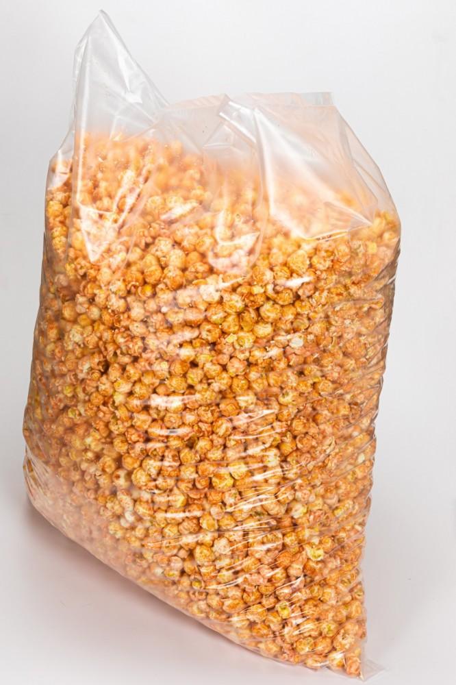 Попкорн карамелизированный со вкусом клубники со сливками, 5 кг