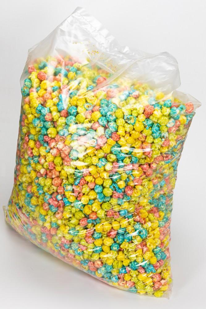 """Попкорн цветной карамелизированный с фруктовым вкусом """"Pop`s MIX"""", 5 кг"""