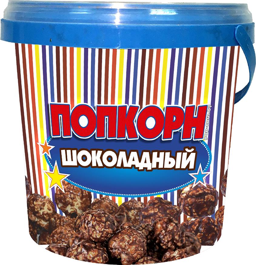 Попкорн со вкусом шоколада, 125 г