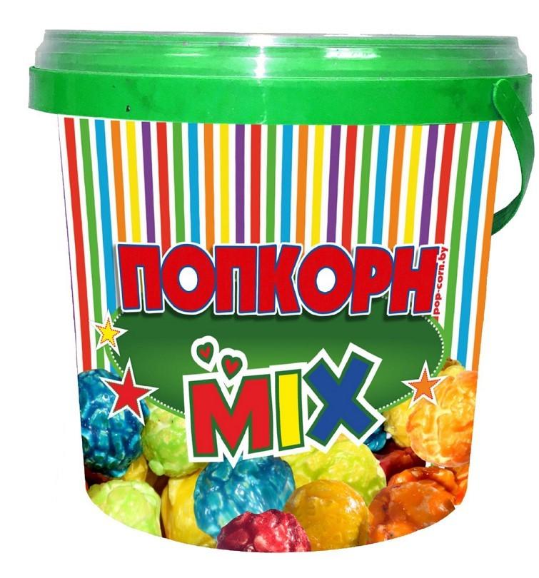 Контейнер для фруктового попкорна с крышкой, 1 л.